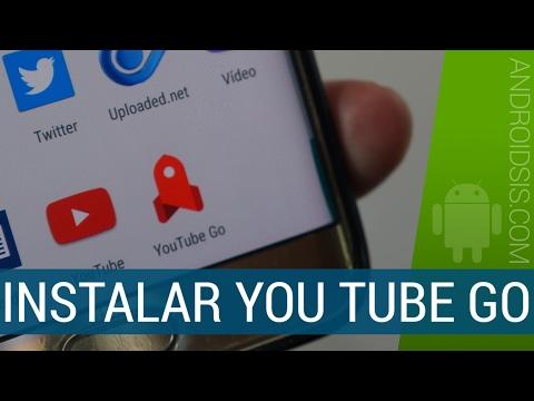 Todo lo que nos ofrece You Tube Go, te enseñamos a instalarlo y a que funcione correctamente