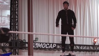 Behind the scenes at Shane McMahon's WWE 2K18 Motion Capture session