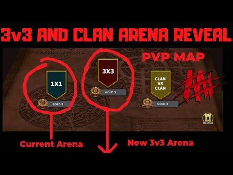 First Look at 3v3 Arena and Clan Arena + Tournament Discussion I Raid Shadow Legends