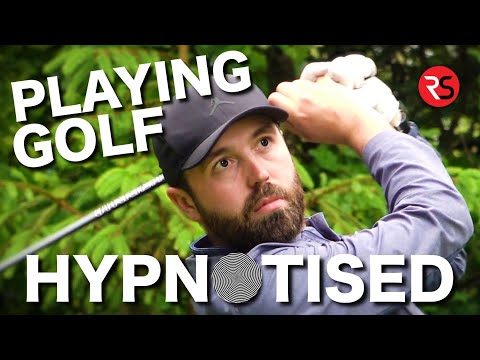 Playing golf.....HYPNOTISED - Do I play better?