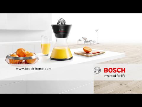 Färskpressad juice med Bosch VitaStyle Citro
