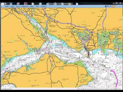 Using Navionics charts with Navigation Planner and PC Plotter