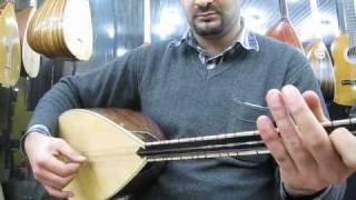 Traditional Turkish Music Instruments in Mardin, Turkey