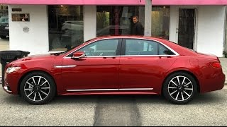 2017 Lincoln Continental – One Take