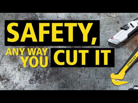 STANLEY® safety knives