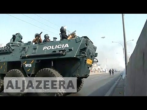 Peru: Violent protests continue over highway tolls