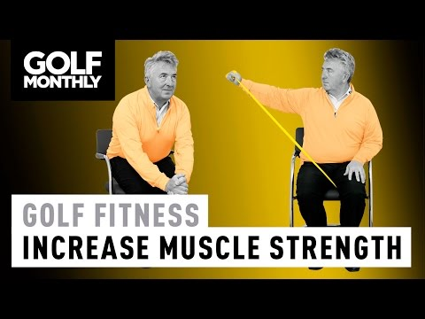 Golf Fitness Drills   I Poster