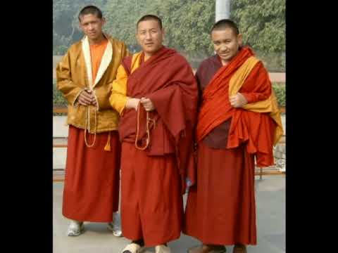 Buddhist monks in India and Nepal.