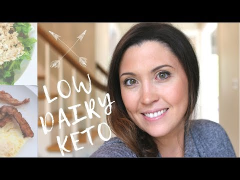 DAIRY FREE / LOW DAIRY KETO (HOW TO) & My 30 Day Weight Loss Results | Ashley Salvatori