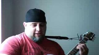 Brad Paisley Whiskey Lullaby (cover by rkael)