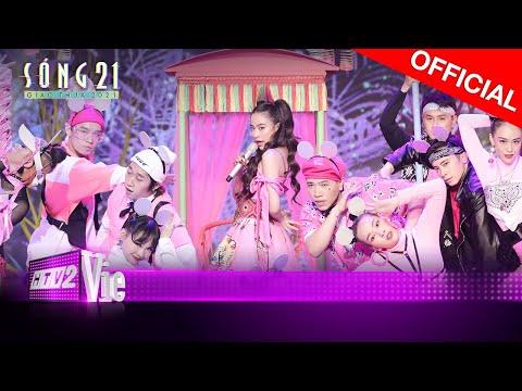 Hoàng Thùy Linh chuốc say cả sân khấu với bản hit Kẻ Cắp Gặp Bà Già | SÓNG 21