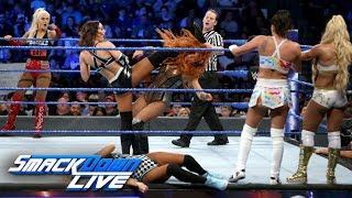 Ten-Woman Tag Team Match: SmackDown LIVE, June 12, 2018