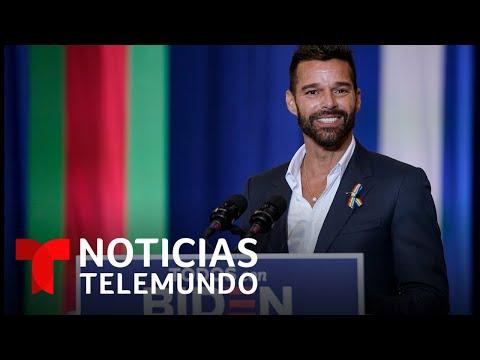 Ricky Martin y Salma Hayek muestran su apoyo a Joe Biden