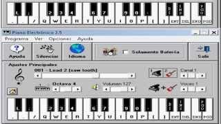 Nestor En Bloque   Mi Unico Amor   Piano Electronico 2 5