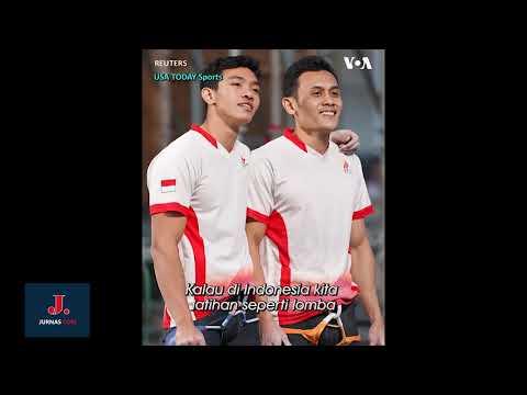 Indonesia Juara! Pecahkan Rekor Panjat Tebing Tercepat