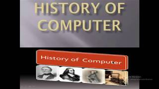 Basics and History of computer in hindi urdu width=