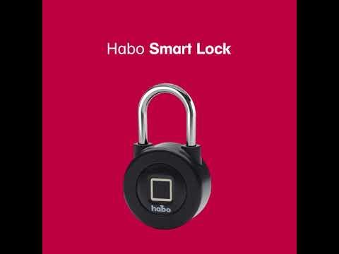 Habo Smartlock Sveriges smartaste hänglås