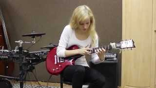 J. S. Bach - Prelude no. 2 in C Minor guitar tapping cover