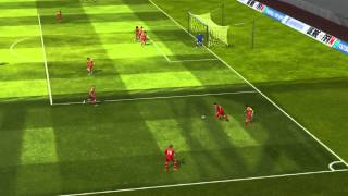 FIFA 14 iPhone/iPad - Razz FC vs. FC Barcelona