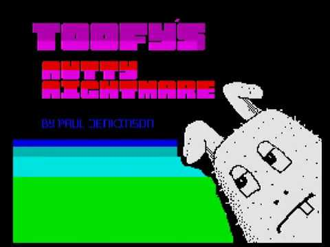 RETROJuegos Homebrew ... Toofy's Nutty Nightmare © 2020 Paul Jenkinson ZX Spectrum