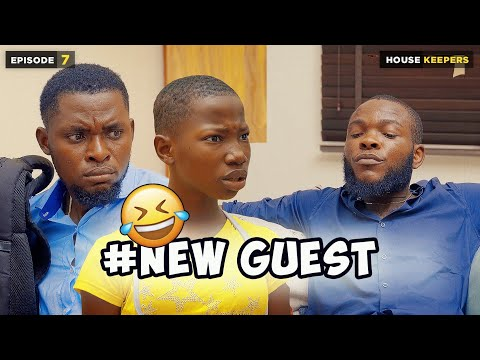 NEW GUEST - EPISODE 7   HOUSE KEEPERS SERIES ( MARK ANGEL COMEDY )
