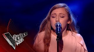 Phoebe Performs 'With You': Blinds 3 | The Voice Kids UK 2018