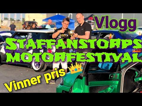 Staffanstorps Motorfestival - Vinner pris! - VLOGG - ROS