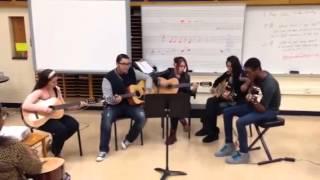 Rush arts guitar- group 5 mashup