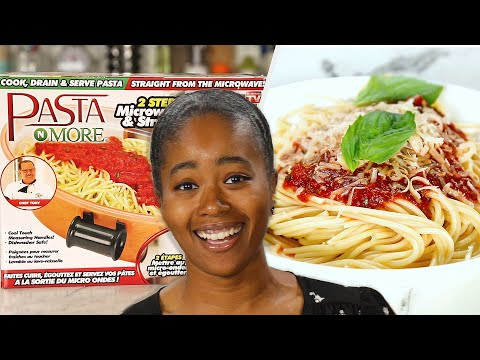 """Can This Microwavable Pasta Maker Make Good Pasta"""""""