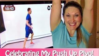 Are You Celebrating Fitness Goals? My Plyo Push-Up Celebration Best Arm Workout