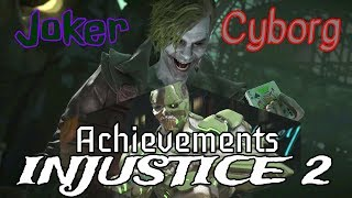 Injustice 2-Why aren't you laughing&No longer friends achievements