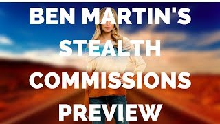 Ben Martin's Stealth Commissions Preview - Coming April 10th