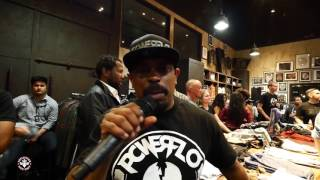 PowerFLO packs 'em in at Affliction Studios...You won't believe what Sen Dog did...