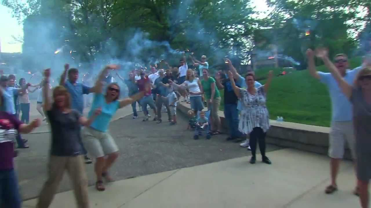 image from video The Grand Rapids LipDub, select to view video