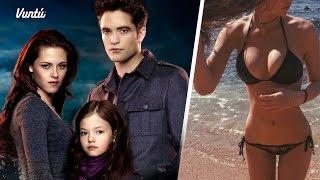 Así luce hoy la hija de Bella y Edward. Cada año más hermosa