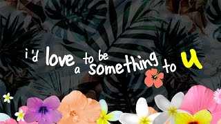 gnash - something [lyric video]