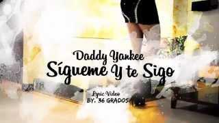 Daddy Yankee - Sígueme y Te Sigo (Karaoke)(Letra)[HD*720]