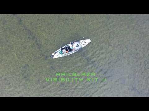 RAILBLAZA Kayak Visibility Kit ll - Be Safe/ Be Seen