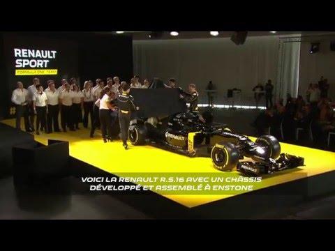 The Renault R.S. 16 reveal // Présentation de la Renault R.S. 16