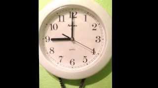 Wall clock tick tock