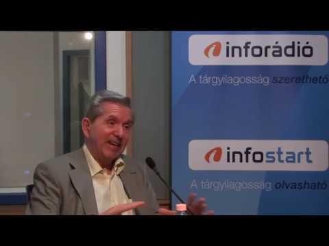 InfoRádió - Aréna - Kiss J. László - 2. rész - 2019.05.20.