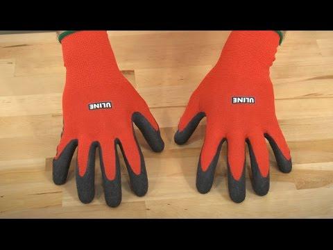 Uline Gription® Flex Latex Coated Gloves