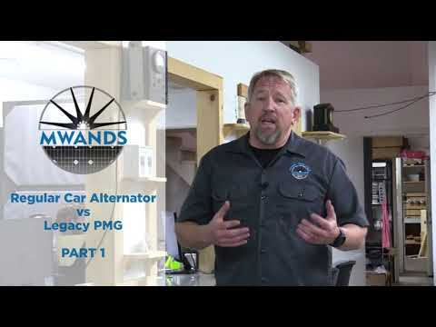 PMG vs. POA (plain old alternator) Part 1 | Missouri Wind and Solar