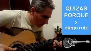 Quizas Porque (Sui Generis) x Diego Ruiz - cover instrumental guitarra acustica fingerstyle