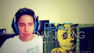 REACT FNaF 3 Song - I'm Purple Guy by DAGames ~ Trance Remix feat Jonatas Carmona