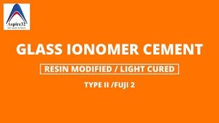 MNEMONICS - Types of GIC (Glass ionomer Cement) width=