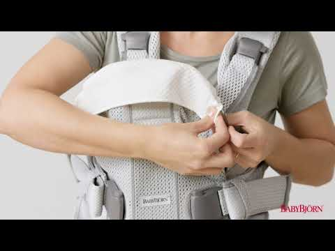 BABYBJÖRN - How to attach the Teething Bib for Baby Carrier One