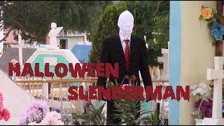 Broma de Halloween | Broma Slenderman | Slenderman Prank | Halloween Prank | Just Maming |