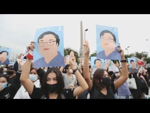 Manifestaciones prodemocrácia continúan su desafío al Gobierno de Tailandia