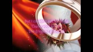 Jim Brickman & Michelle Wright - Your Love (The Greatest Gift Of All) (Lyrics)